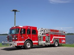Colington Volunteer Fire Department Receives New Apparatus